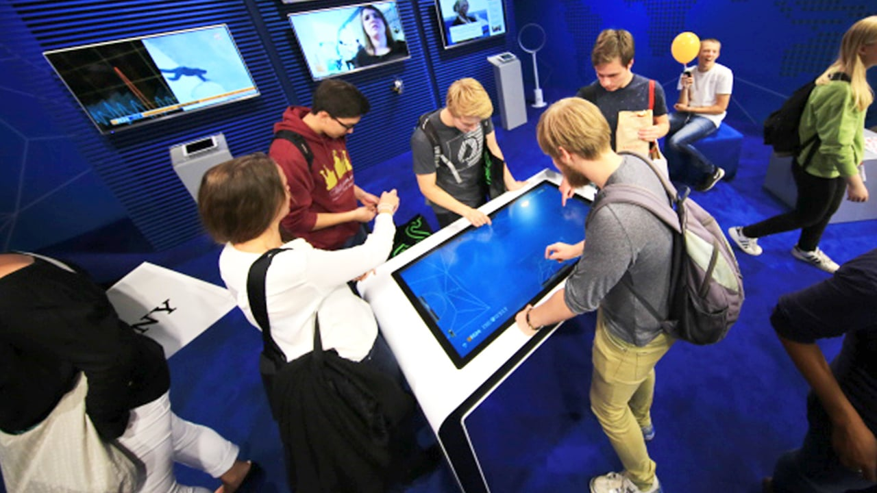 MultiTouch Table Software N24 Tradeshow