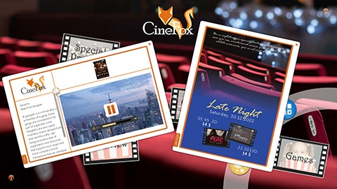 Cinema, Cineplex & Movie Theatres